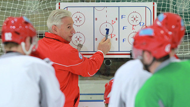 Главный тренер ХК Ак Барс Зинэтула Билялетдинов. Архивное фото