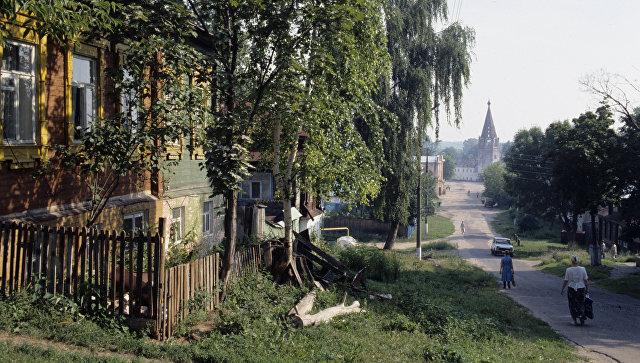 Дорога к храму в городе Гороховец. Архивное фото