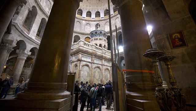 В монастыре Гроба Господня окончена первая за200 лет реставрация