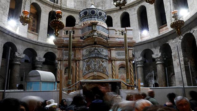 ВИерусалиме закончилась реставрация часовни в монастыре Гроба Господня