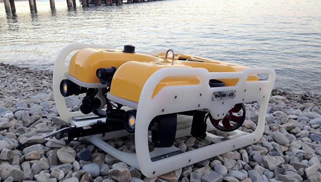 Телеуправляемый подводный аппарат Марлин-350. Архивное фото