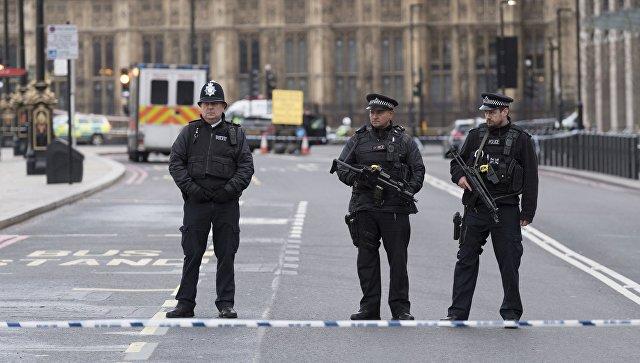 Сотрудники полиции в Лондоне. Архивное фото