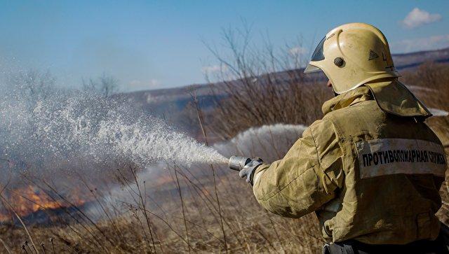 Лесной пожар в130 гектаров ликвидирован вЗабайкалье