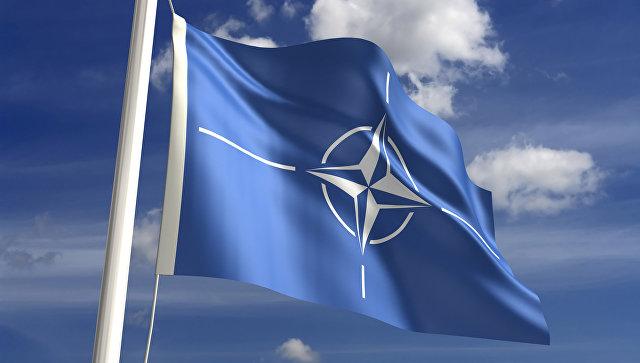 Флаг НАТО. Архивное фото