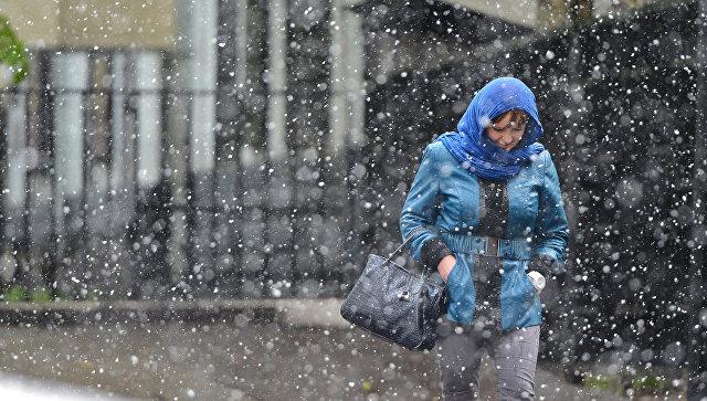 Жителей столицы предупредили о стремительном ухудшении погоды вечером 26марта
