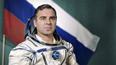 Александр Викторенко - летчик-космонавт, командир основного экипажа космического корабля Союз ТМ-14. Архивное фото