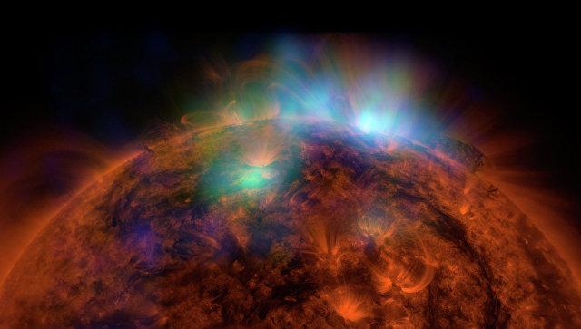 Поверхность Солнца. Архивное фото