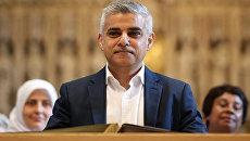 Мэр Лондона Садик Хан. Архивное фото
