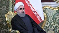 Президент Исламской Республики Иран Хасан Роухани. Архивные фото