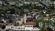Вид на Большую Ханскую мечеть в Бахчисарае в Крыму. Архивное фото