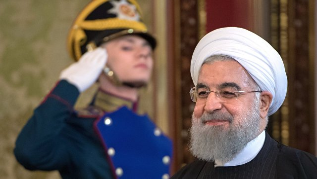 Президент Исламской Республики Иран Хасан Роухани. Архивное фото