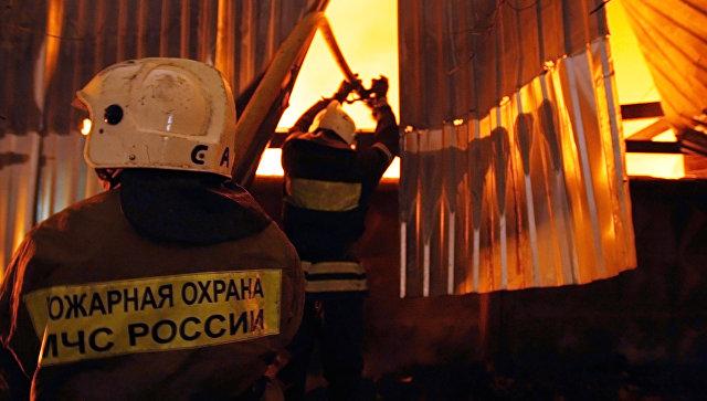 Студентов ГУУ эвакуировали из-за пожара вобщежитии