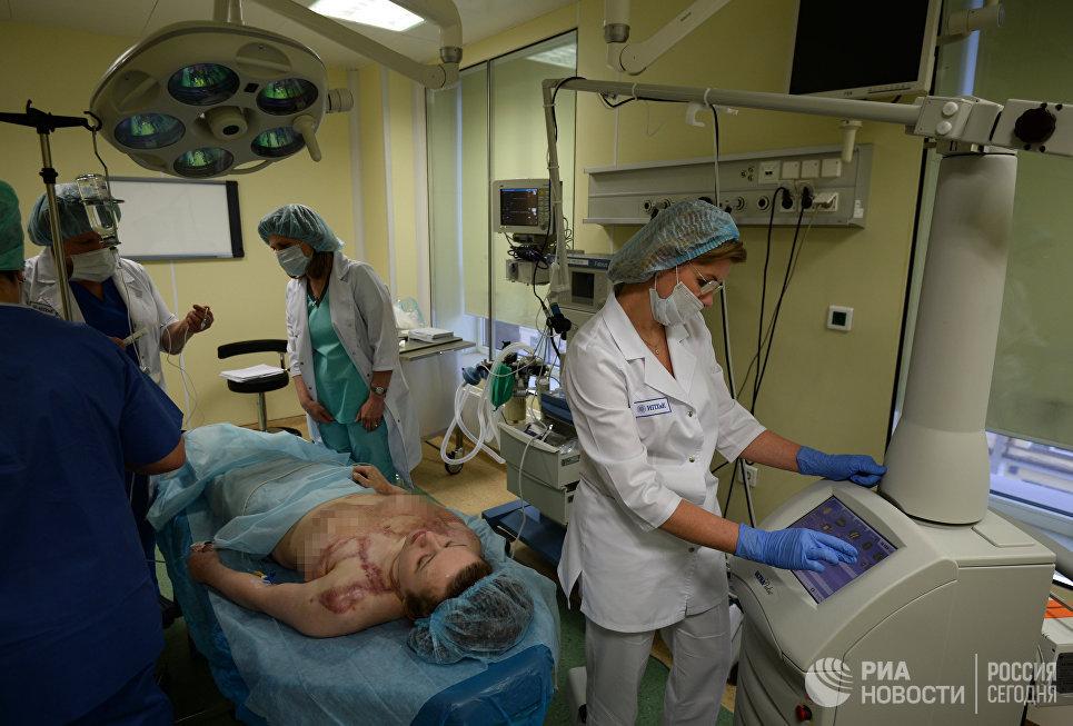 Подготовка к процедуре фототермолиза