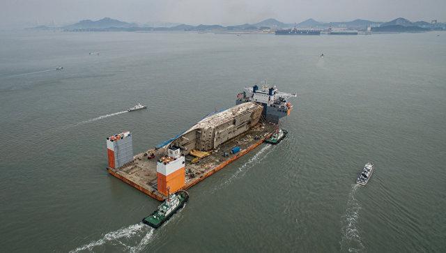 Порт в Южной Корее. Архивное фото