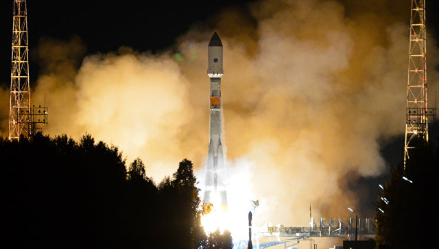 Запуск ракеты-носителя Союз-2.1б. Архивное фото