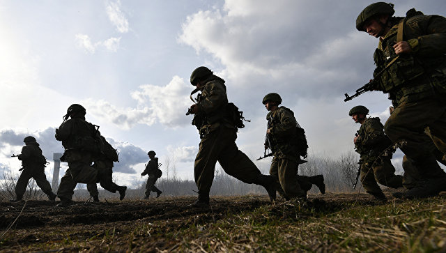 Российские десантники. Архивное фото