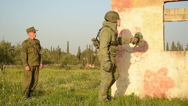 Русские саперы в текущем году получат средства защиты, испытанные вСирии