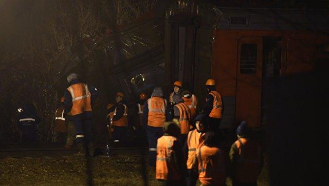 Пучков: 6 пострадавших при столкновении поездов в российской столице находятся вочень тяжелом состоянии