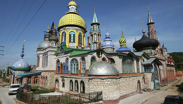 ВКазани пожар охватил Храм всех религий