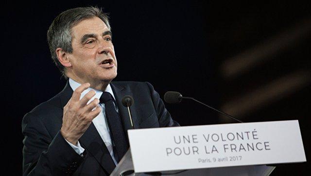 Фийон назвал основной задачей Франции предотвращение конфликта между США иРФ