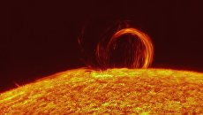Вспышка на Солнце. Архивное фото.