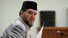 Настоятель московской мечети Ярдям шейх Махмуд Велитов. Архивное фото