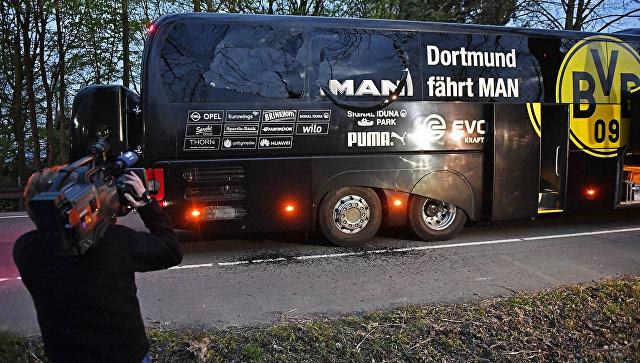 В немецкой полиции сомневаются, что взрыв в Дортмунде был терактом