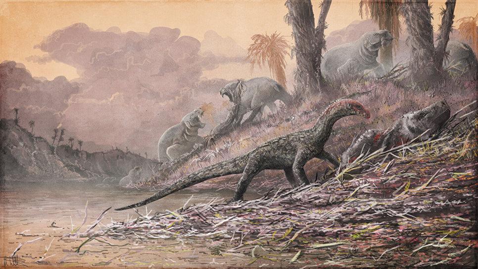Предки динозавров ходили начетырех лапах— Ученые