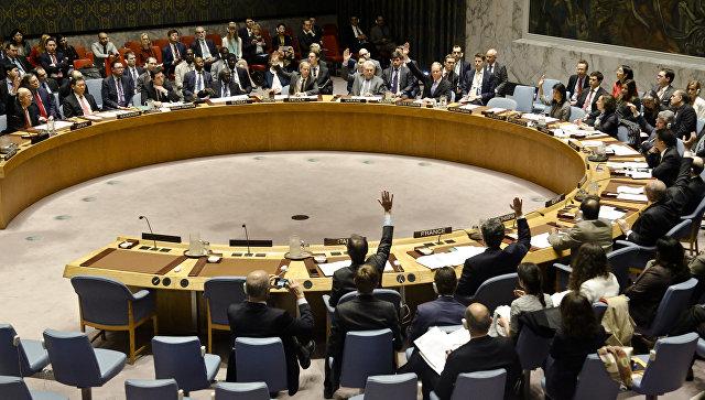 Голосование пв Совбезе ООН. Архивное фото