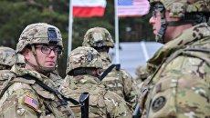 Американские военные в Польше. Архивное фото