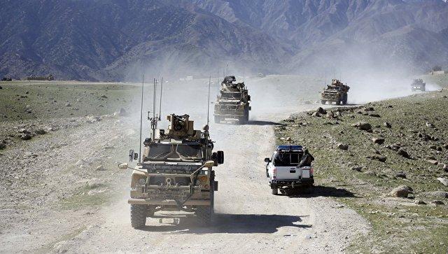 Патруль американских и афганских военных. Архивное фото