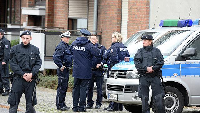 Немецкие полицейские. Архивное фото