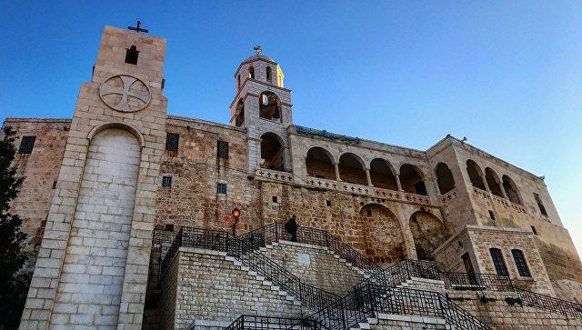 В монастыре в Сирии. Архивное фото