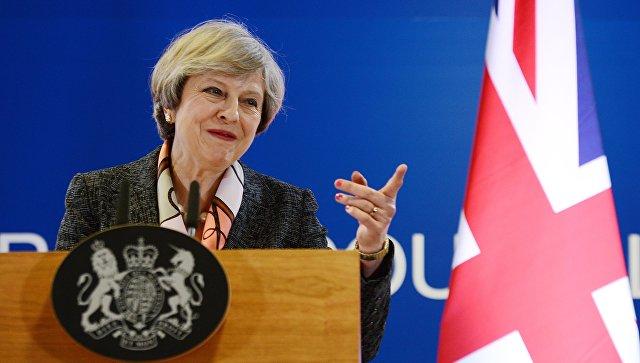 Британский премьер Тереза Мэй оговорилась, заявив о борьбе страны с «туризмом»