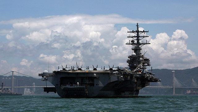 США и Япония проводят учения у Корейского полуострова