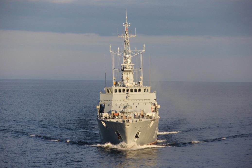 4-й новейший корабль противоминной обороны Владимир Емельянов. Архивное фото