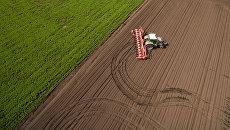Посевная и весенние полевые работы на полях АО Агрообъединение Кубань в Краснодарском крае. Архивное фото