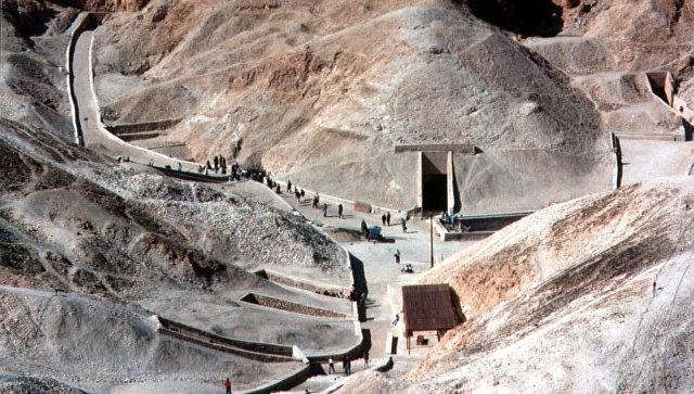 Луксор, Долина Царей