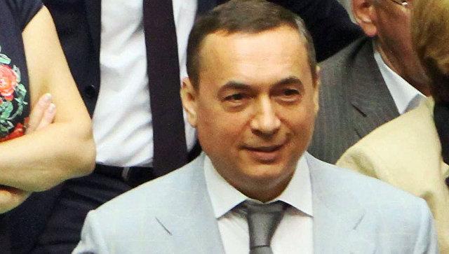 Украинский бизнесмен и политик Николай Мартыненко