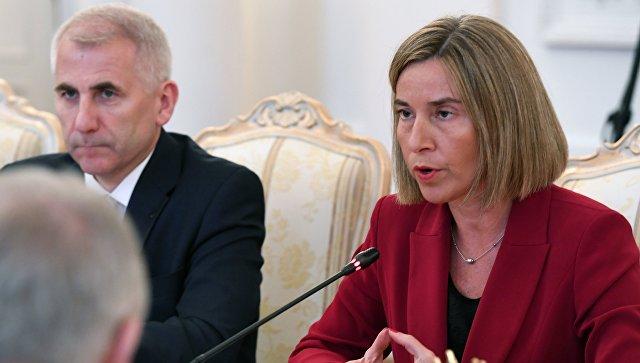 Могерини: уЕС и Российской Федерации пока остаются глобальные разногласия поУкраине