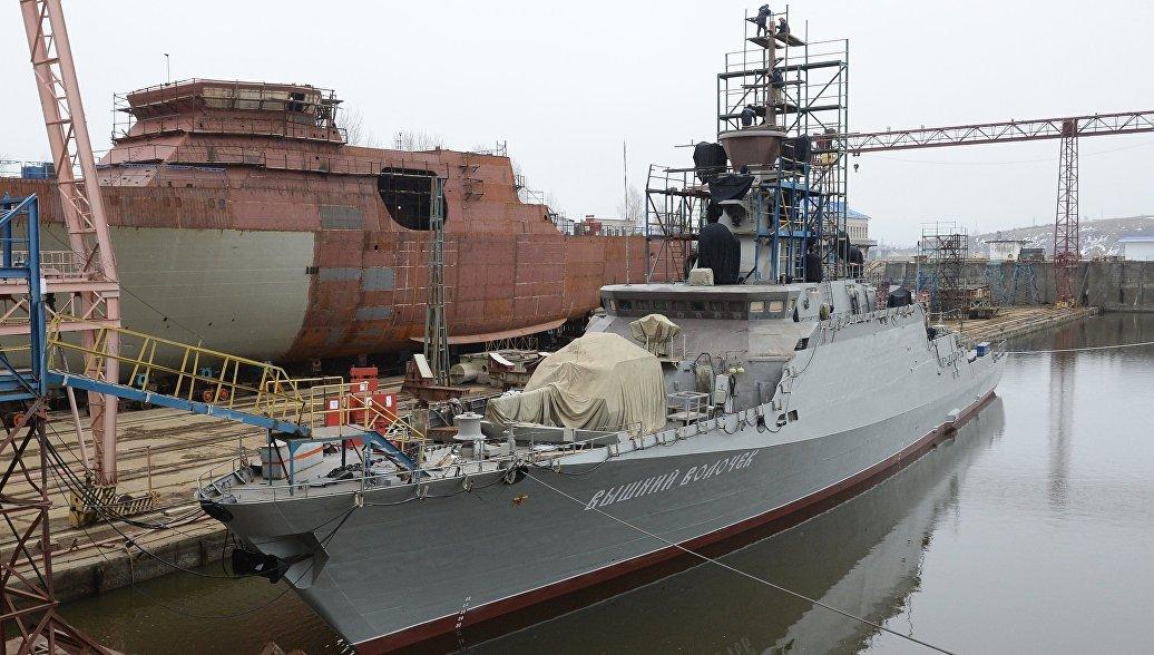 ВМФ в мае получит новейший ракетный корабль