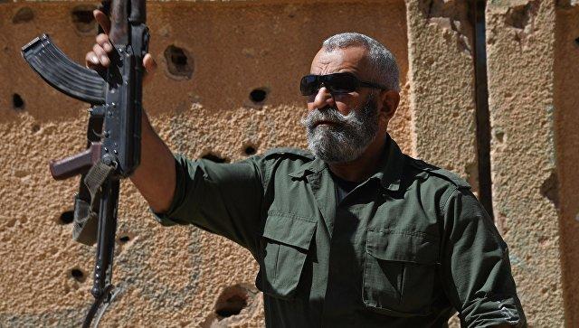 Генерал республиканской гвардии Исама Захреддин в сирийском городе Дейр-эз-Зор. Архивное фото