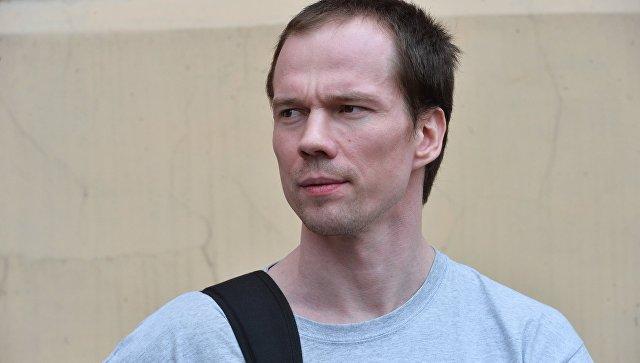 Первый осужденный в РФ за неоднократное нарушение правил проведения митингов Ильдар Дадин. Архивное фото