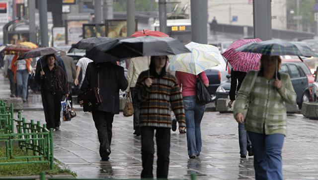 В столицеРФ апрель этого 2017-ого года стал самым дождливым сначала 21 века