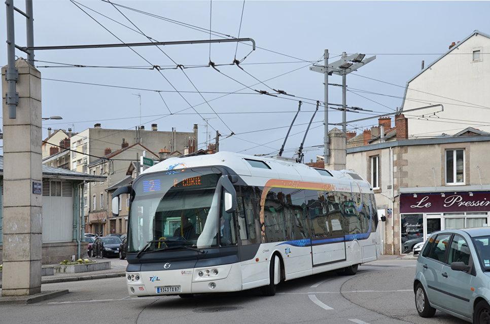 Троллейбус Irisbus Cristalis в Лиможе, Франция