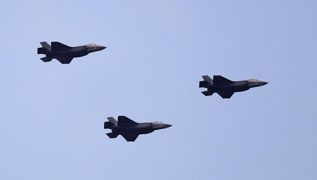 Израиль проверит истребители F-35I после крушения F-35В в Южной Каролине