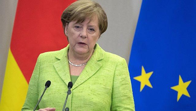 Федеральный канцлер ФРГ Ангела Меркель. Архивное фото