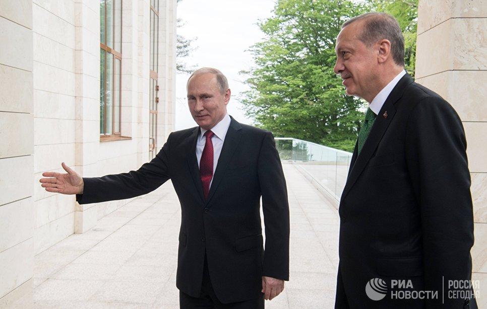 ВТурции поведали оповестке встречи Эрдогана и Владимира Путина