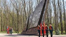 Уникальный монумент Бессмертный полк в Туле. Архивное фото
