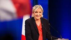 Второй тур президентских выборов во Франции. Архивное Фото.